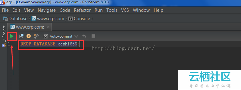 PhpStorm中如何使用database工具,详细操作方法