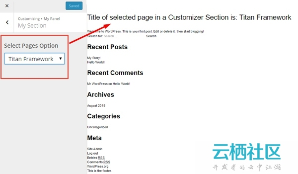 A Beginners Guide to Titan Framework: Adding a Select Type, Select-Posts Type, and Select-P...