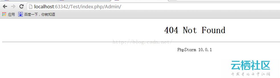 TP3.2.3 引入后台模板访问不成功