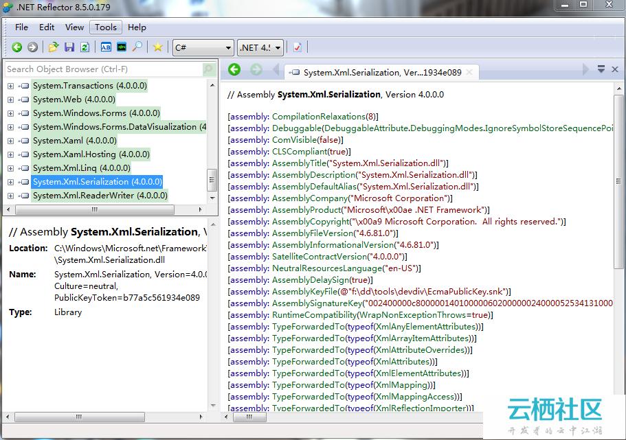 .NET Reflector 8.5.0.179(带注册机及说明)