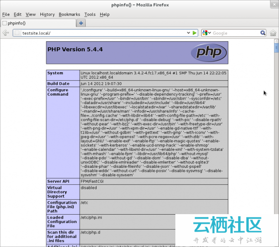 在CentOS/RHEL6.2/5.8,Fedora17/16上安装Nginx/PHP-FPM环境